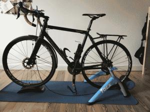 Gravel Bike auf Rollentrainer - Reifenwahl ist wichtig